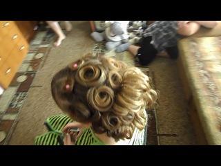Причёски на выпускной 2014 на длинные волосы для девочек 3 (forwmn.ru)