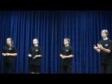 Открытый урок по сценической речи, часть первая.